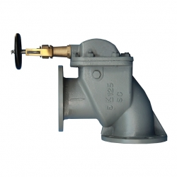 Marine daily standard right angle protection valve JISF3060
