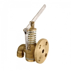 Marine daily standard single flange self closing valve JIS F7398