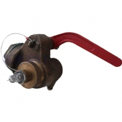 Marine valve type sounding self closing valve with alarm device CBM1078-81