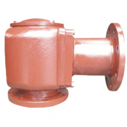 Marine double flange air cap