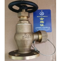 Marine daily standard leather cage valve JIS F7334