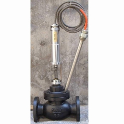 Marine self powered temperature control valve