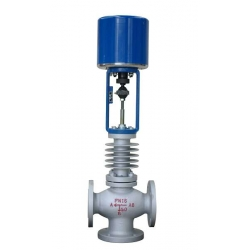 Marine three way electric control valve -