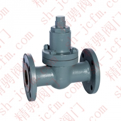 Marine bimetal adjustable steam trap valve