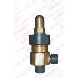 Marine external thread steam bronze angle safety valve CB/T3192-1983