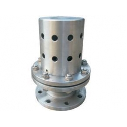Marine negative pressure safety valve