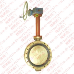 1 marine double eccentric lengthening rod butterfly valve GB/T3037-1994