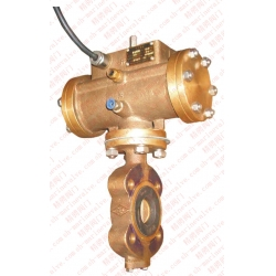 Marine bronze central pneumatic butterfly valve