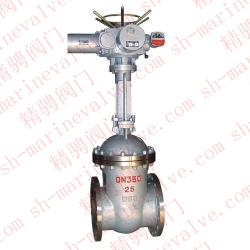 Marine electric gate valve
