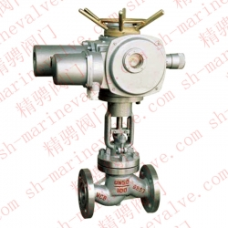 Marine electric globe valve