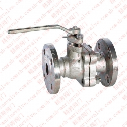 Marine stainless steel flange ball valve