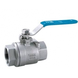 Marine two stainless steel ball valve