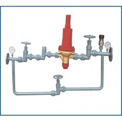 Marine single air pressure reducing valve group