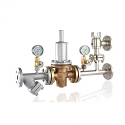 Marine double pressure relief valve group