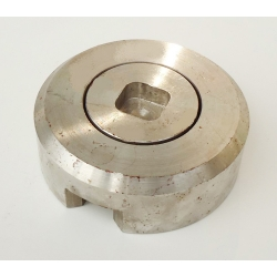 Stainless steel ship bottom plug (CBT254-1997)