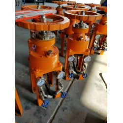 Marine hydraulic manual pump