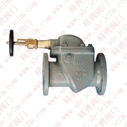 Class J flange closed vertical wave valve CB/T4023-2005