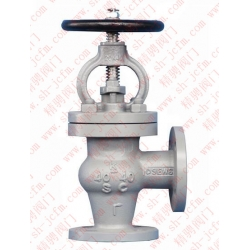 Type J flange cast steel right angle air valve CB/T4025-2005