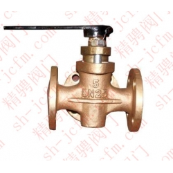 Type J flange bronze 0.5MPA packing cock