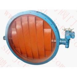 Marine electric ventilation butterfly valve CB1285-1996