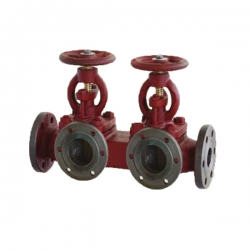 CB/T 4277-2013 marine flange cast iron single row discharge valve box