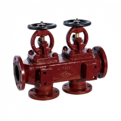 CB/T 4279-2013 marine cast iron single row suction stop check box